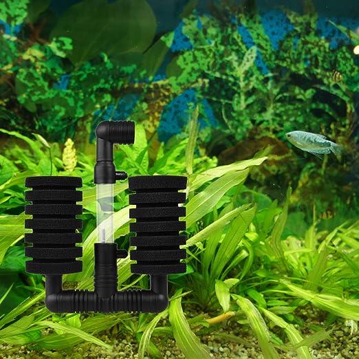 TankerStreet Bomba de Aire Filtro de Esponja Súper Bioquímico Sponge Filter para Pez de Acuario Casero Tan Eficiente Ahorro de Energía Sin Ruido: Amazon.es: ...