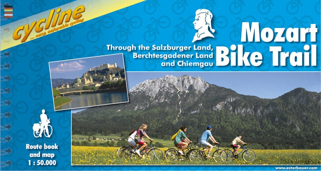 Mozart Bicycle Trail (Ger-Austria) 1:50K (Cycline)
