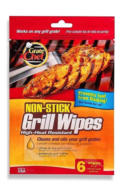 Amazon.com: rallar Chef 101 – 1200 Grill Wipes, desechables ...