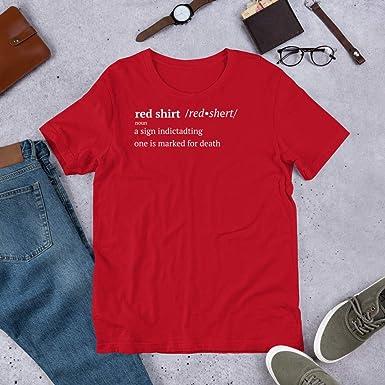 Definición de camisa roja - Rojo - X-Large: Amazon.es: Ropa y ...