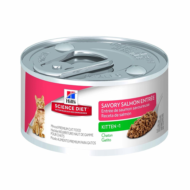 HillS Science Diet Kitten Minced Cat Food, 24-Pack