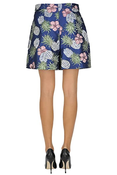 Pinko Women's Mcglpnh03000e Blue Polyester Shorts: Amazon.co.uk: Clothing