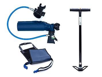 MiniDive Pro (0,5 L) + M4S Bomba Manual + Arneses: Amazon.es: Deportes y aire libre