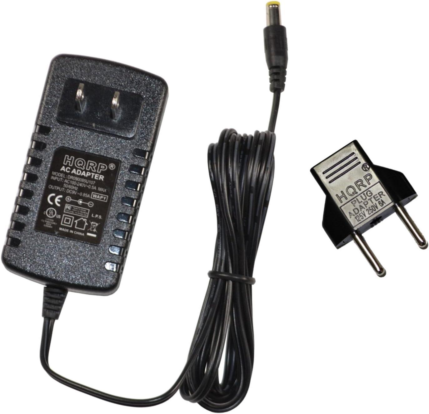 HQRP Adaptador de CA para Casio CTK-2100, CTK-2200, CTK-230 ...