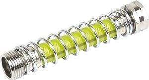 Sun Joe SJI-KFHS1 Heavy Duty Coiled Spring Hose Kink Protector & Faucet Extension, (Lead Free, Phthalate Free, BPA Free)