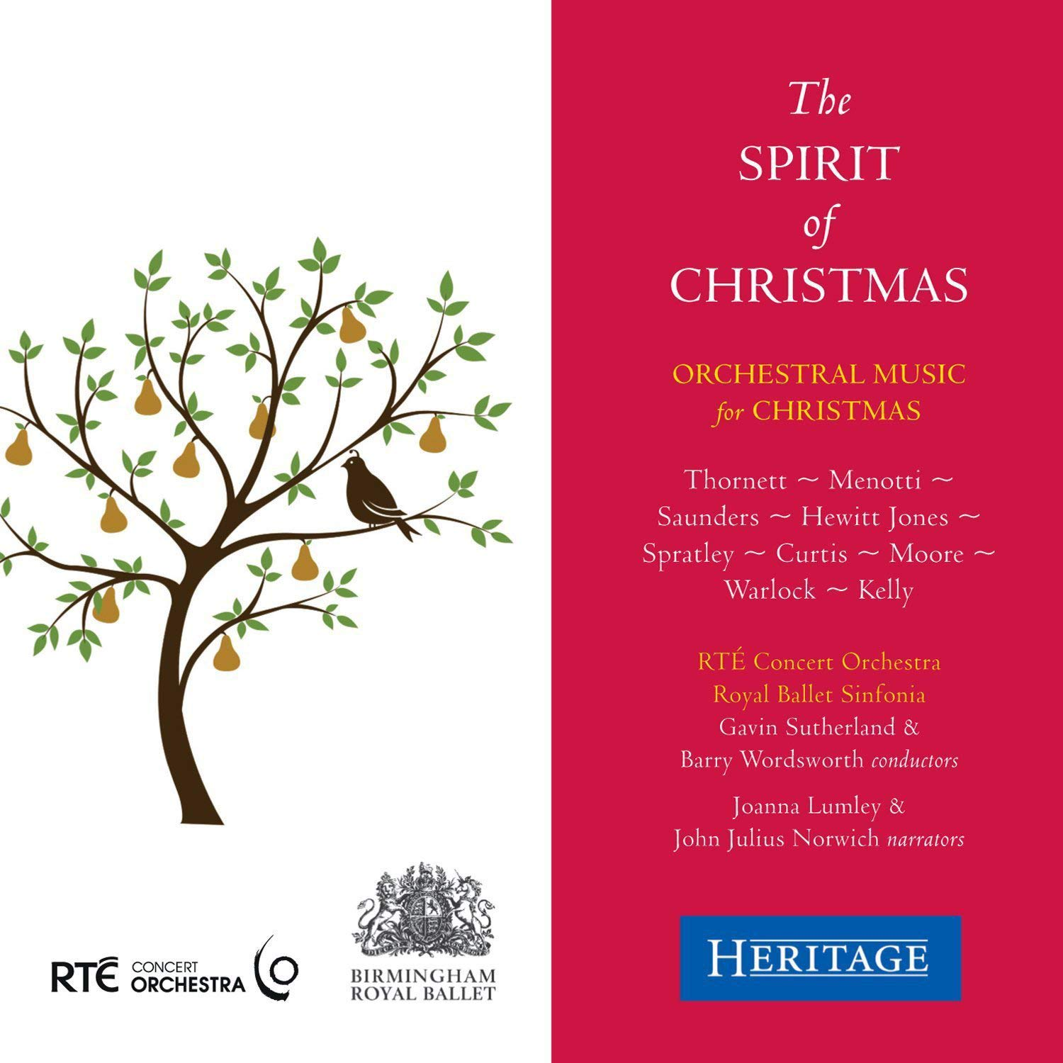 The Spirit half of Christmas Joanna Factory outlet Concert Orchestra Lumley RTE R