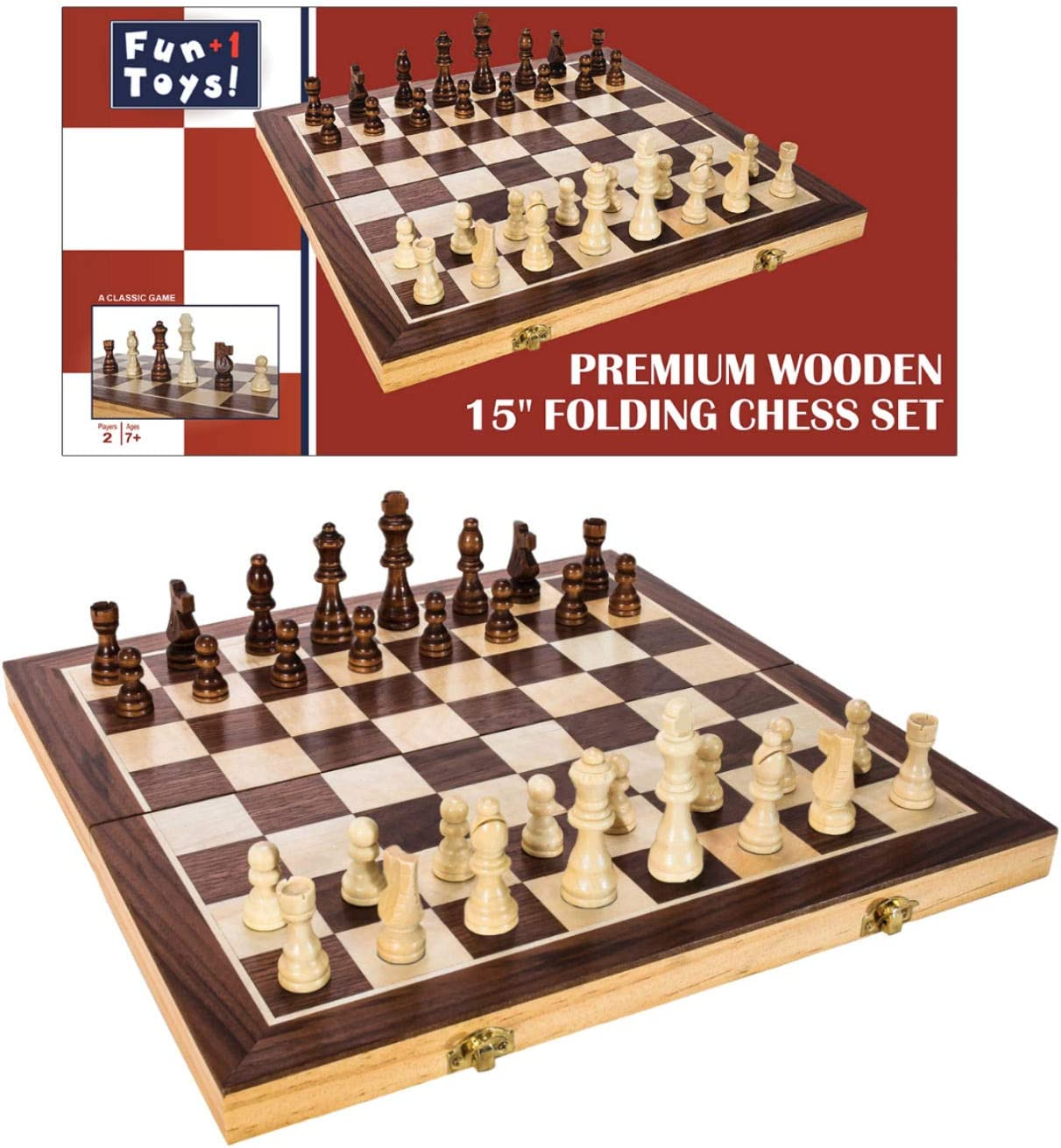 Wooden Antique Chinese Chess Pieces Set Board Game Family Leisure Toys New Hot