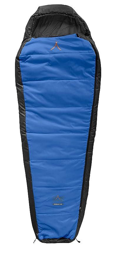 GRAND CANYON Fairbanks – saco de dormir tipo momia, 3 estaciones, azul/negro