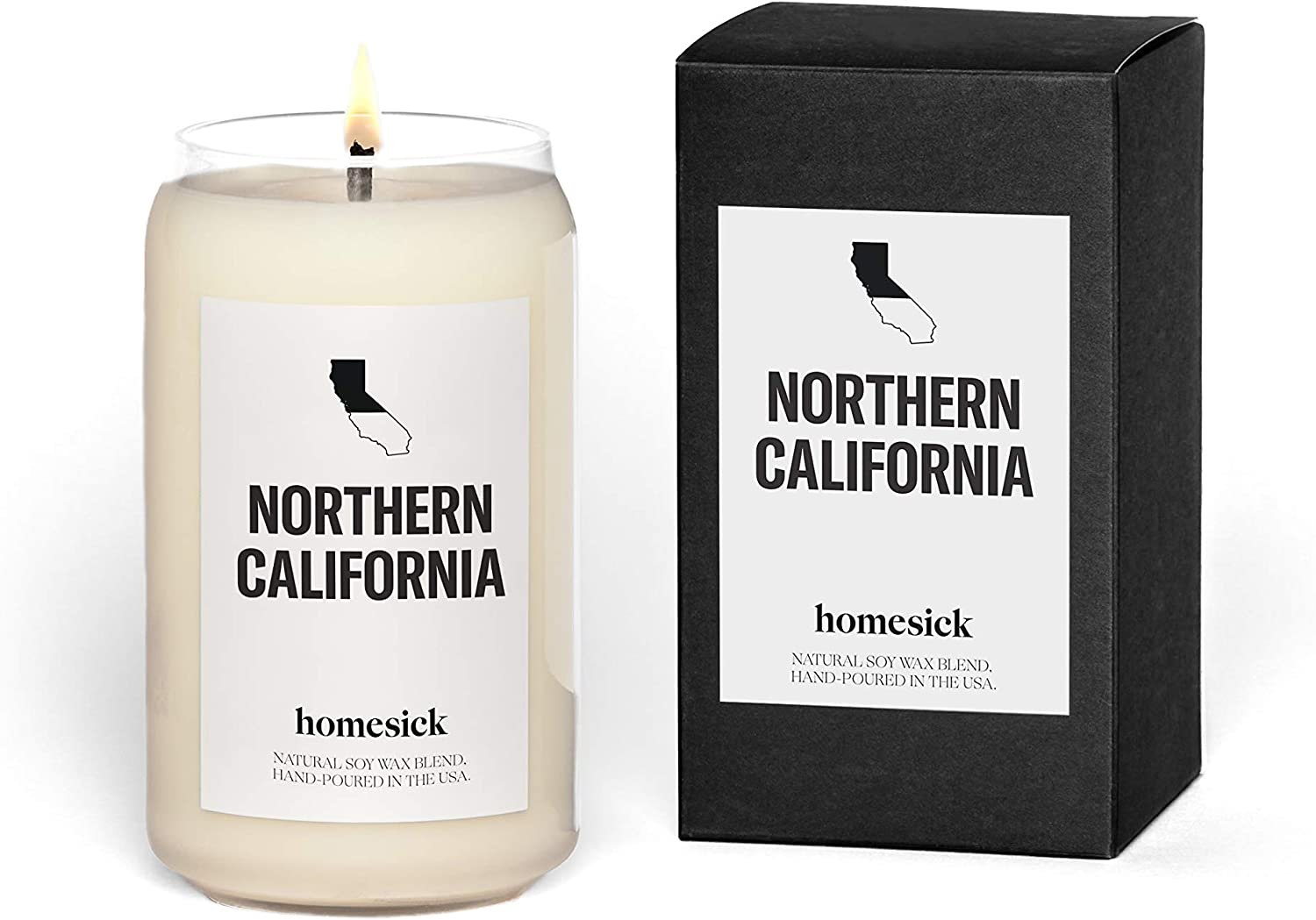 Homesick Scented Candle, Northern California (2020 Version)