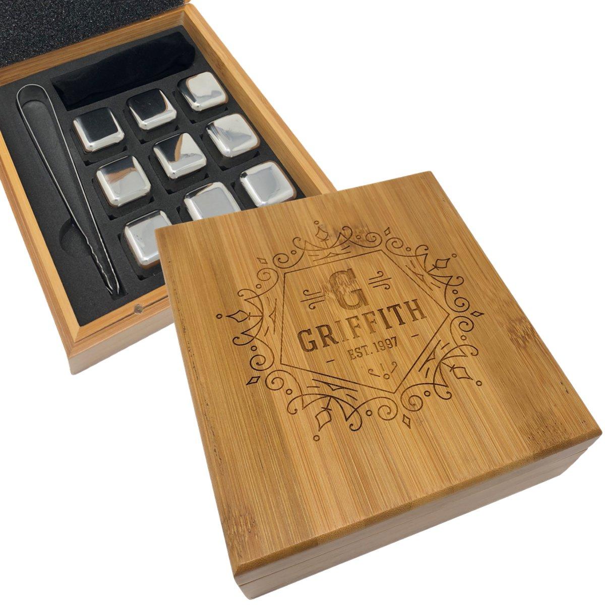 格安販売中 Personalized Engraved Whiskey Whiskey Stones、カスタムWhiskey Rocks、石Chill Forワイン B0791KQS5Z、挙式 Engraved、花嫁介添人ギフト B0791KQS5Z, 餅と和洋菓子の店いしや:9f561d45 --- a0267596.xsph.ru