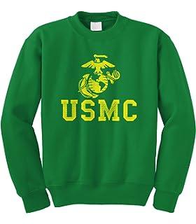 ddd408abf Cybertela United States Marine Corps USMC Crewneck Sweatshirt