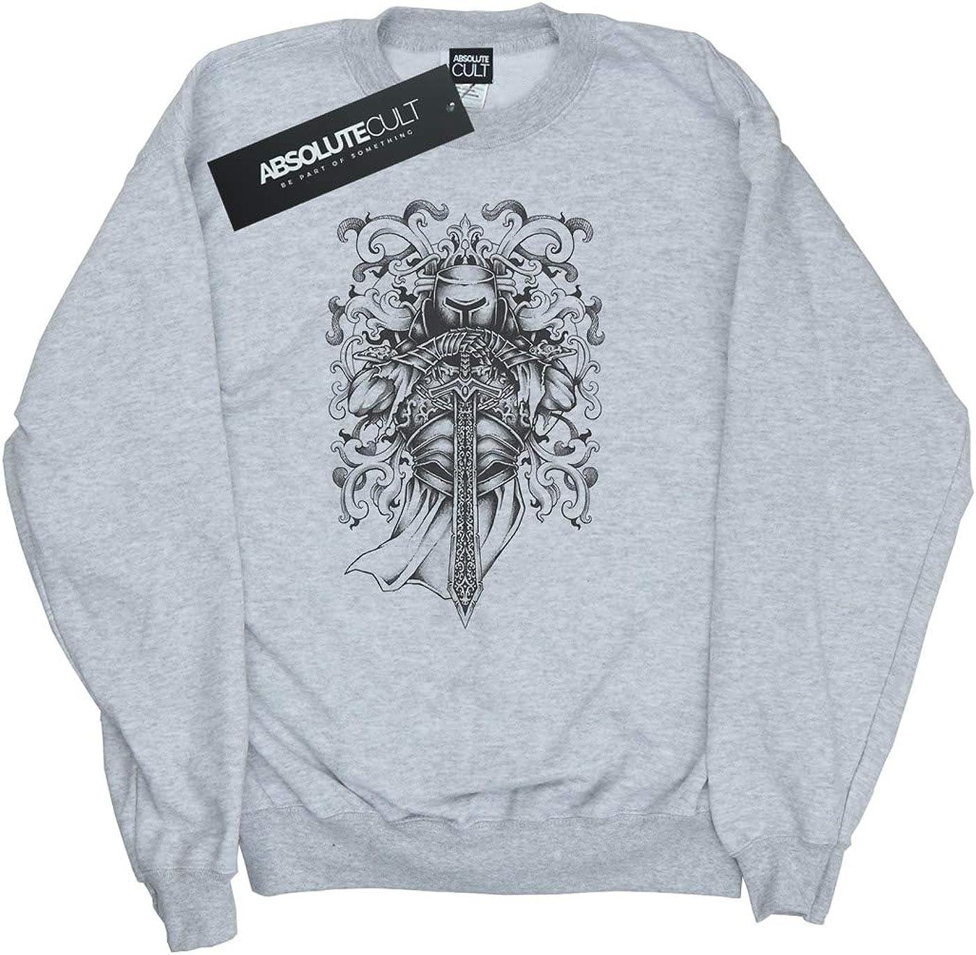 Drewbacca Girls Knights Armour Sweatshirt