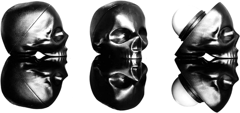 Skull-Shaped Lip Balm Shine-Free Moisturizing Gift Set – Mint, Vanilla & Passion Fruit