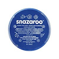 Snazaroo - Pintura facial y corporal, 18 ml, color azul real