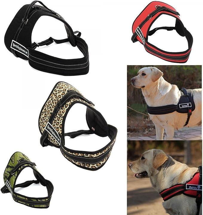 tradeshoptraesio® – Pechera correa perros perro bardatura Cinturón ...