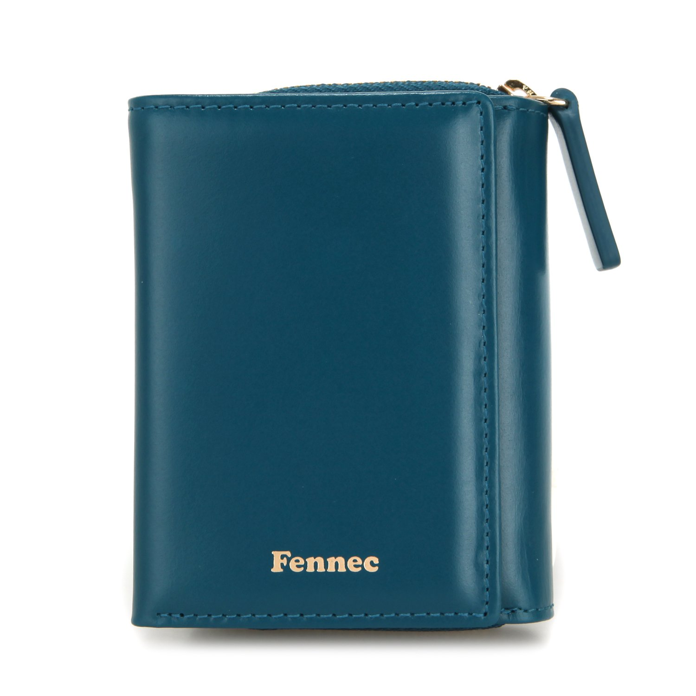 Fennec Pocket Wallet フェネック 三つ折り財布 コインケース付き 本革レザー 【Fennec Official】 B078V356WQ シーグリーン シーグリーン