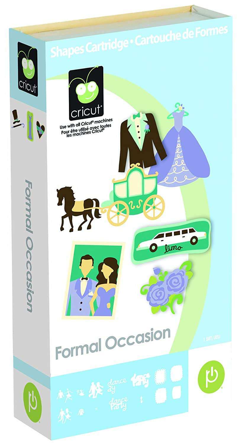 Cricut 2000936 Formal Occasion Cartridge