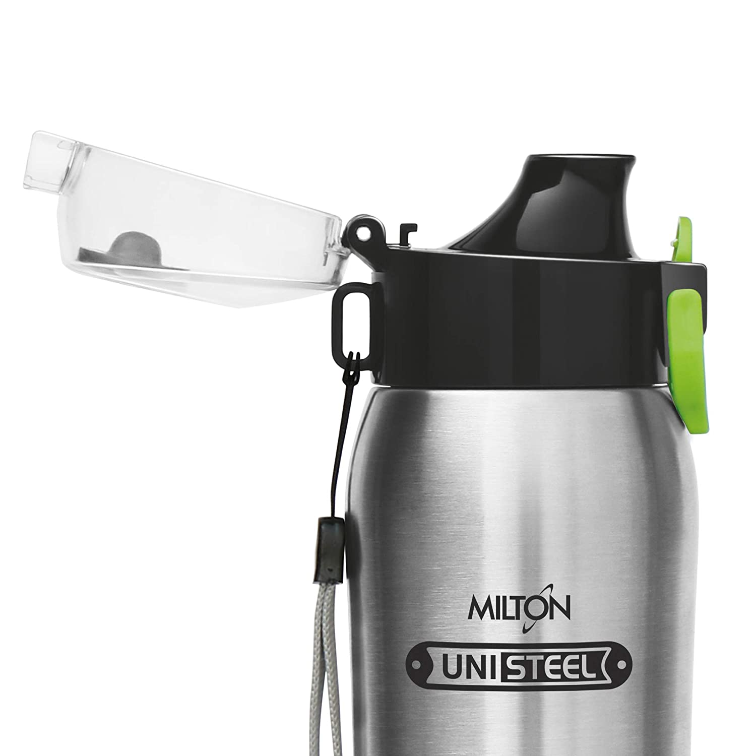 Milton Sparx Stainless Steel Bottle, 710ml, Steel Plain