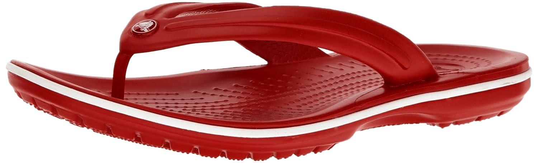 crocs Unisex-Erwachsene Crocband Flip Zehentrenner  36/37 EU|Rot (Pepper/White)
