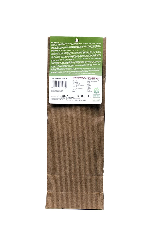 Semillas de Lino Organicas 500 gr