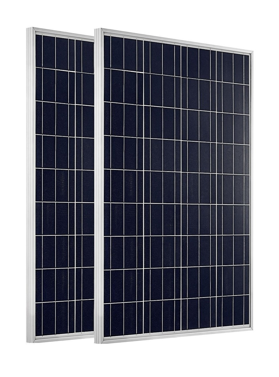ECO-WORTHY 200 Watt Poly Solar Panel Kit with 20A MPPT Controller for RV Boat Home 12v and 24v battery Charger