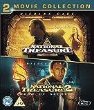 National Treasure 1 & 2 Double Pack [Blu-ray] [Region Free]
