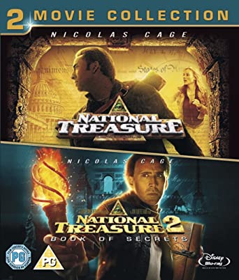Its Historic National Treasure But We >> Amazon Com National Treasure 1 2 Double Pack Blu Ray Region