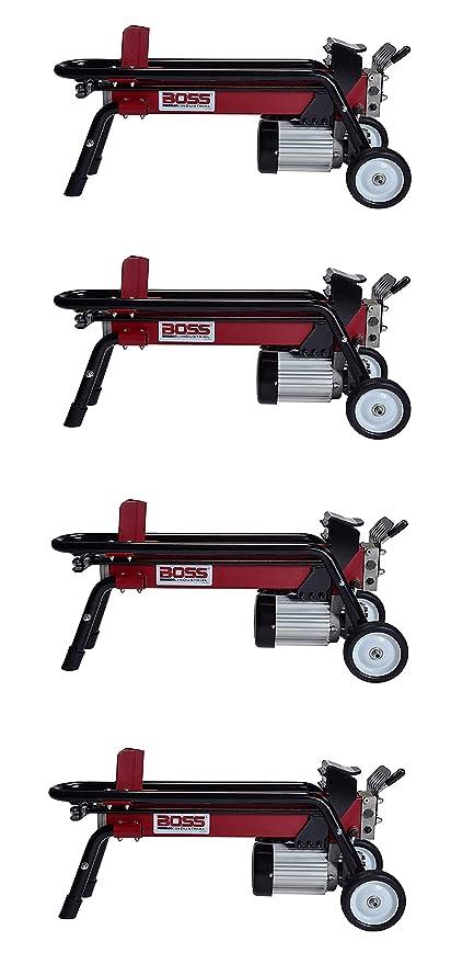 e3f213df928f Amazon.com : Boss Industrial ES7T20 Electric Log Splitter, 7-Ton (Fоur  Расk) : Garden & Outdoor