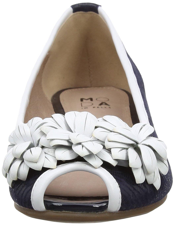 Moda Peep-Toe in Pelle Damen Feria Peep-Toe Moda a8c38b