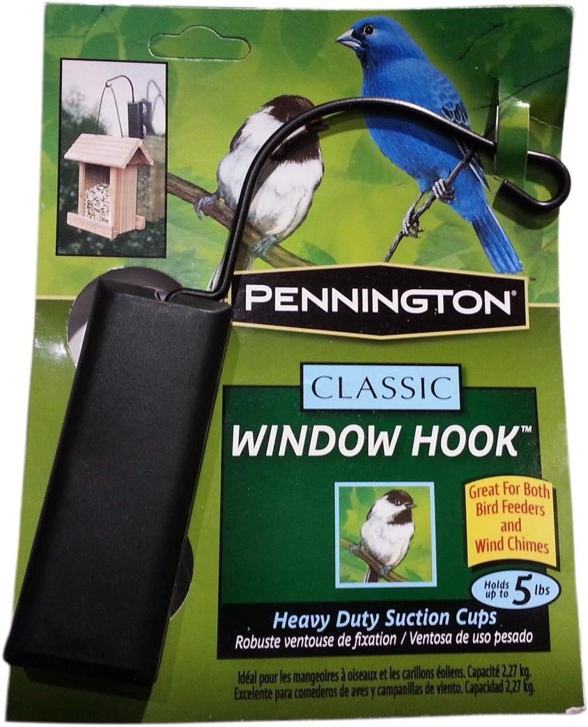 Pennington Classic Window Hook Used for Bird Feeder