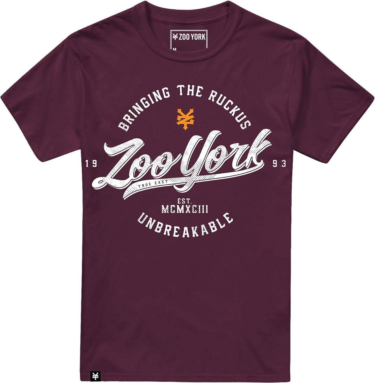 TALLA S. Zoo York Unbreakable Camiseta para Hombre