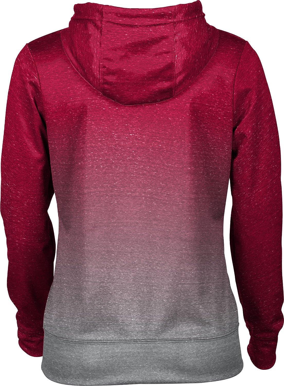Ombre School Spirit Sweatshirt Troy University Girls Pullover Hoodie