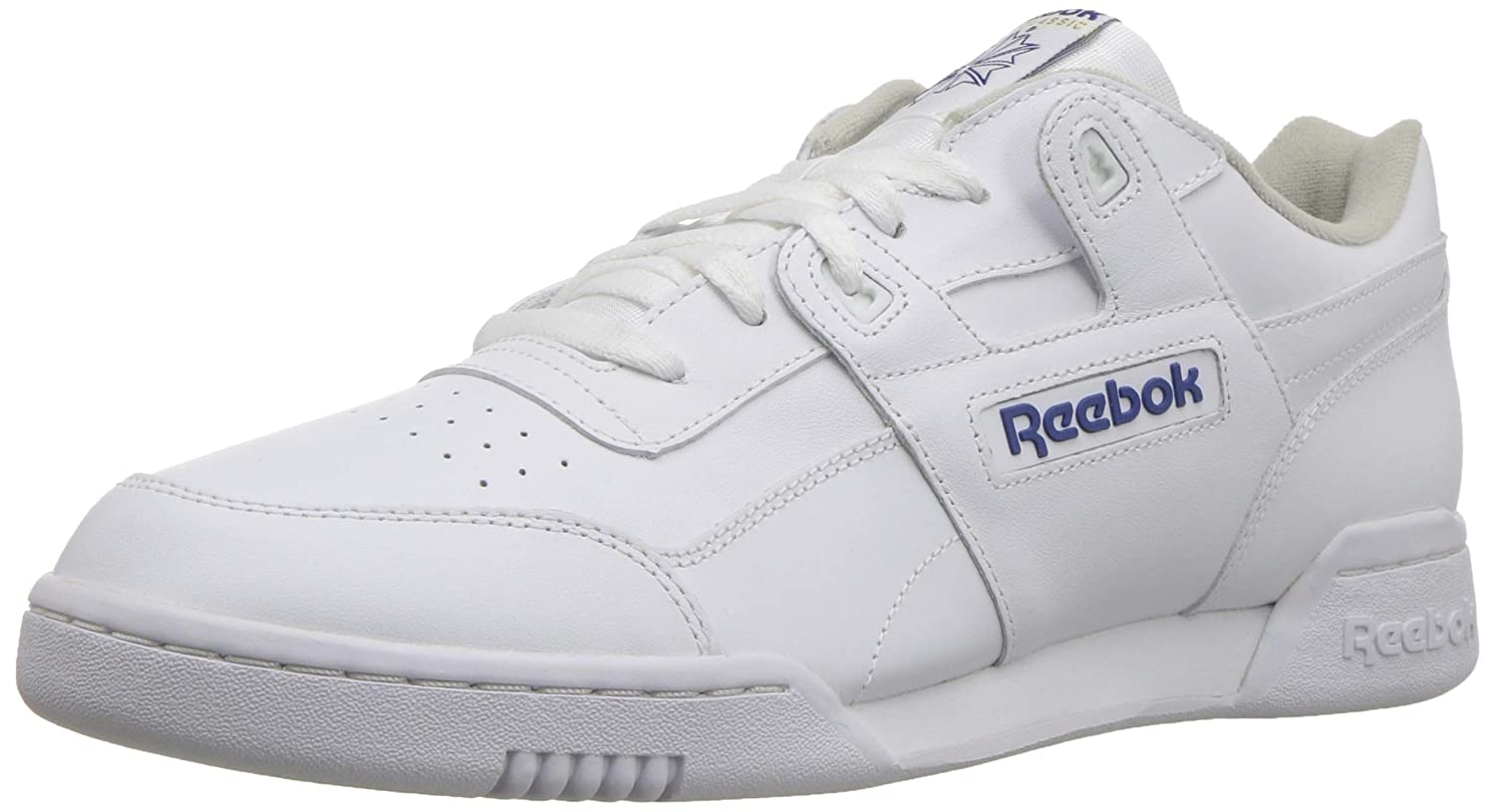 TALLA 43 EU. Reebok Workout Plus, Zapatillas Unisex Adulto