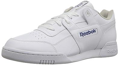 9891fbd20c33d0 Reebok Men s Workout Plus Cross Trainer White Royal 3.5 ...