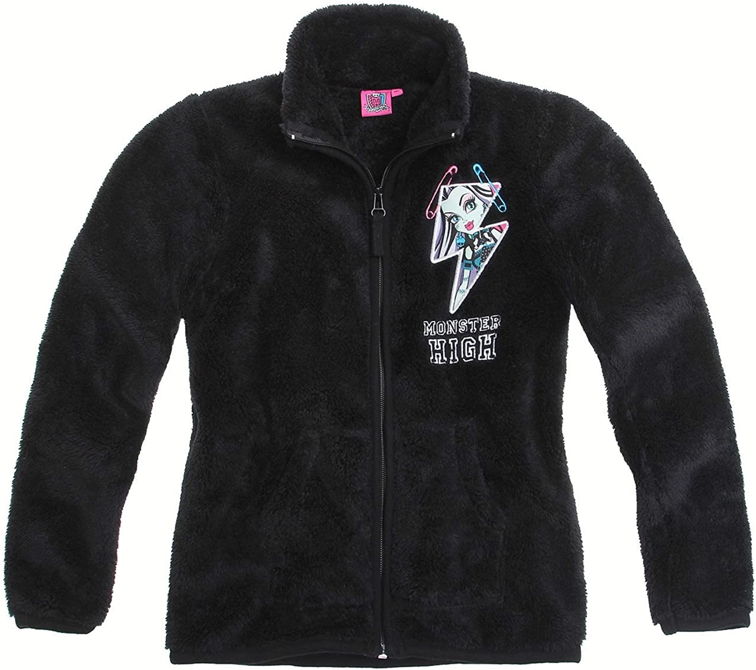 Monster High Polar Fleece Jacke schwarz