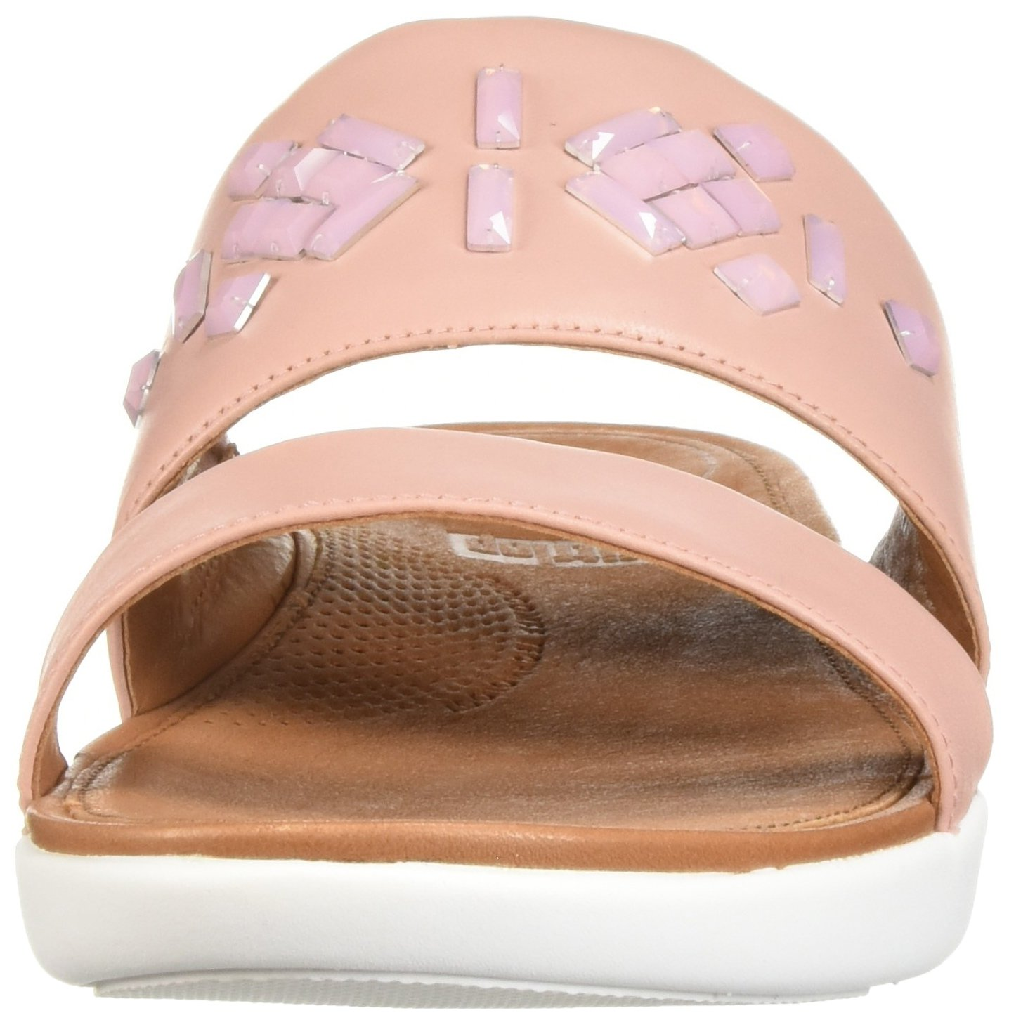 238fccc4cfc4 ... FitFlop Women s Delta Leather 5 Crystal Slide Sandal B0774ZZL24 5  Leather M US