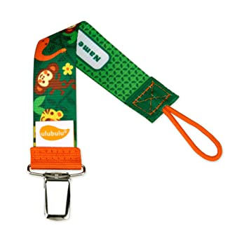 Ulubulu Pacifier Clip Holder Baby Infant Pacifiers Clip You Put Baby/'s Name