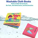 DEKIRU Baby Books 9-Pack Nontoxic Fabric Colorful