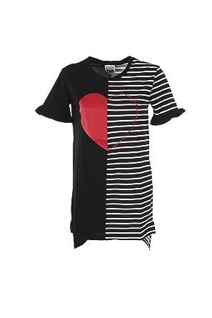 Xl 2018 Donna Twin Js82rf Bianconero My T Primavera Estate Shirt kZwiTXlOPu