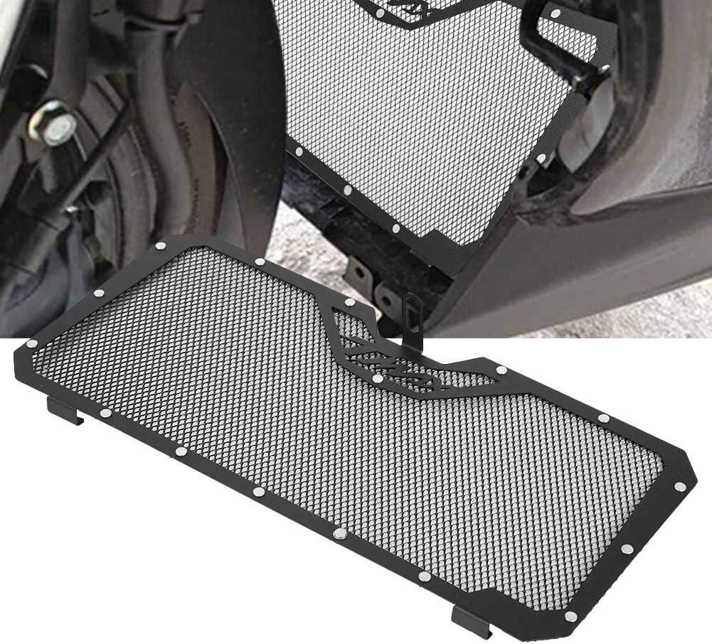 Protector de Radiador Cubierta de Parrilla de la Motocicleta Aleaci/ón de Aluminio Cubierta de Radiador Protector de Rejilla para T-MAX 530 12-16 Cubierta de Radiador Protector Black