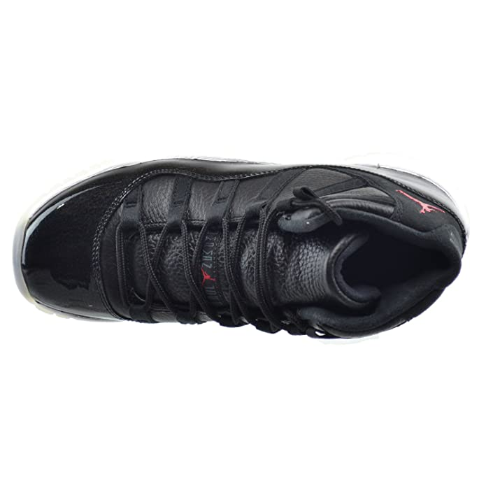 low cost 5e9dd 4bfda Amazon.com   Jordan Air 11 Retro Big Kids Shoes Black Gym Red-White-Anthracite  378038-002   Basketball