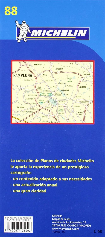 Plano Plegable Pamplona. Plano E Índice: Plano E Indice (Planos Michelin): Vv.Aa: Amazon.es: Belleza