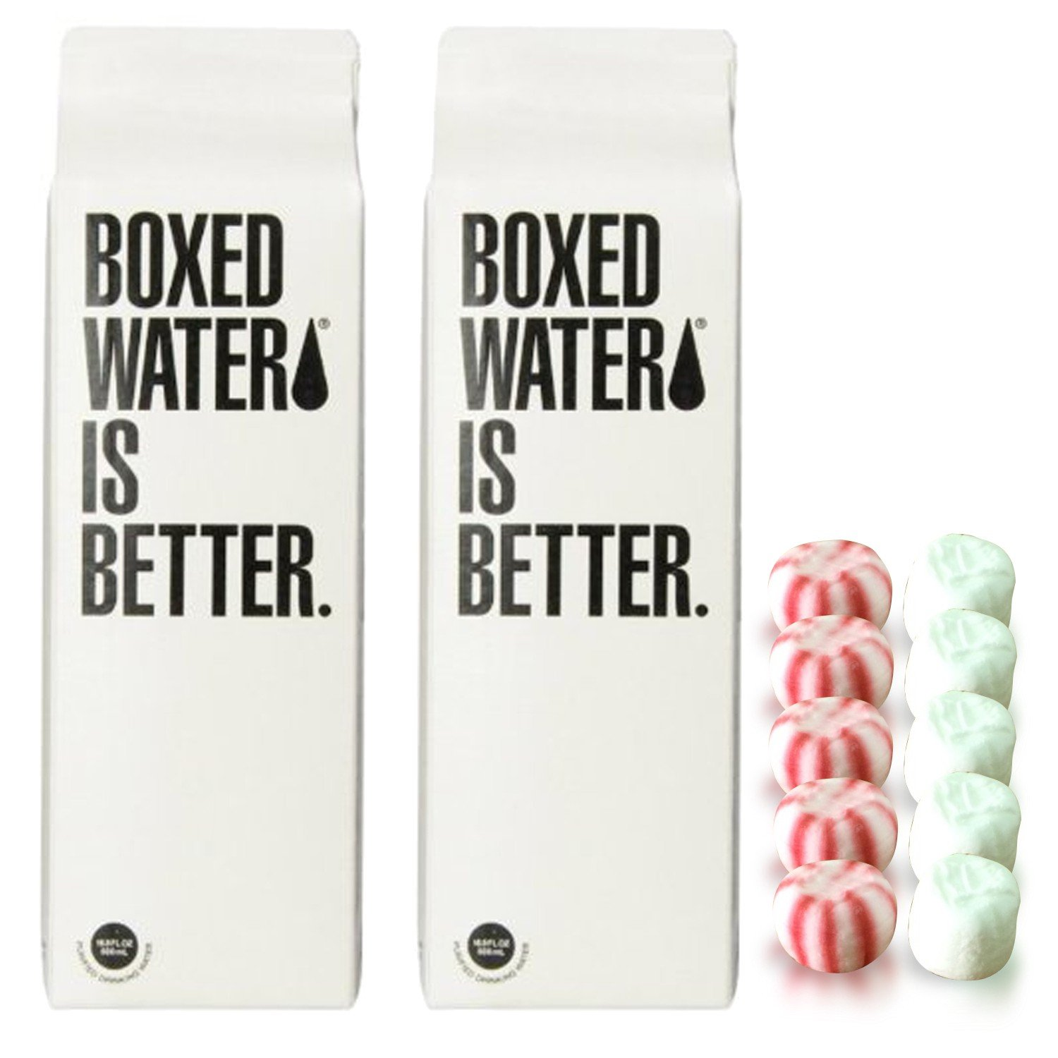 Boxed Water Is Better 500ml Including Thank You Mints, 2 Pack