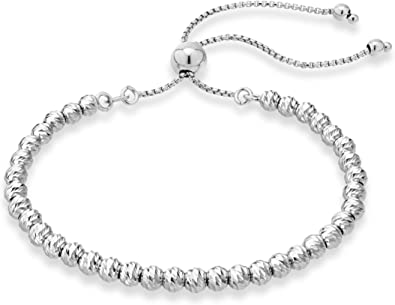 handmade bracelet sterling silver bracelet Silver bracelet silver balls bracelet