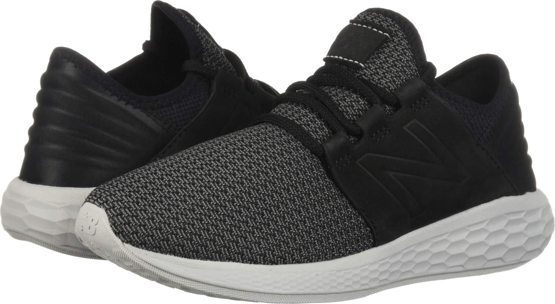 New Balance Men's Cruz V2 Fresh Foam Running Shoe, black/castlerock/nubuck, 7 D US by New Balance (Image #1)