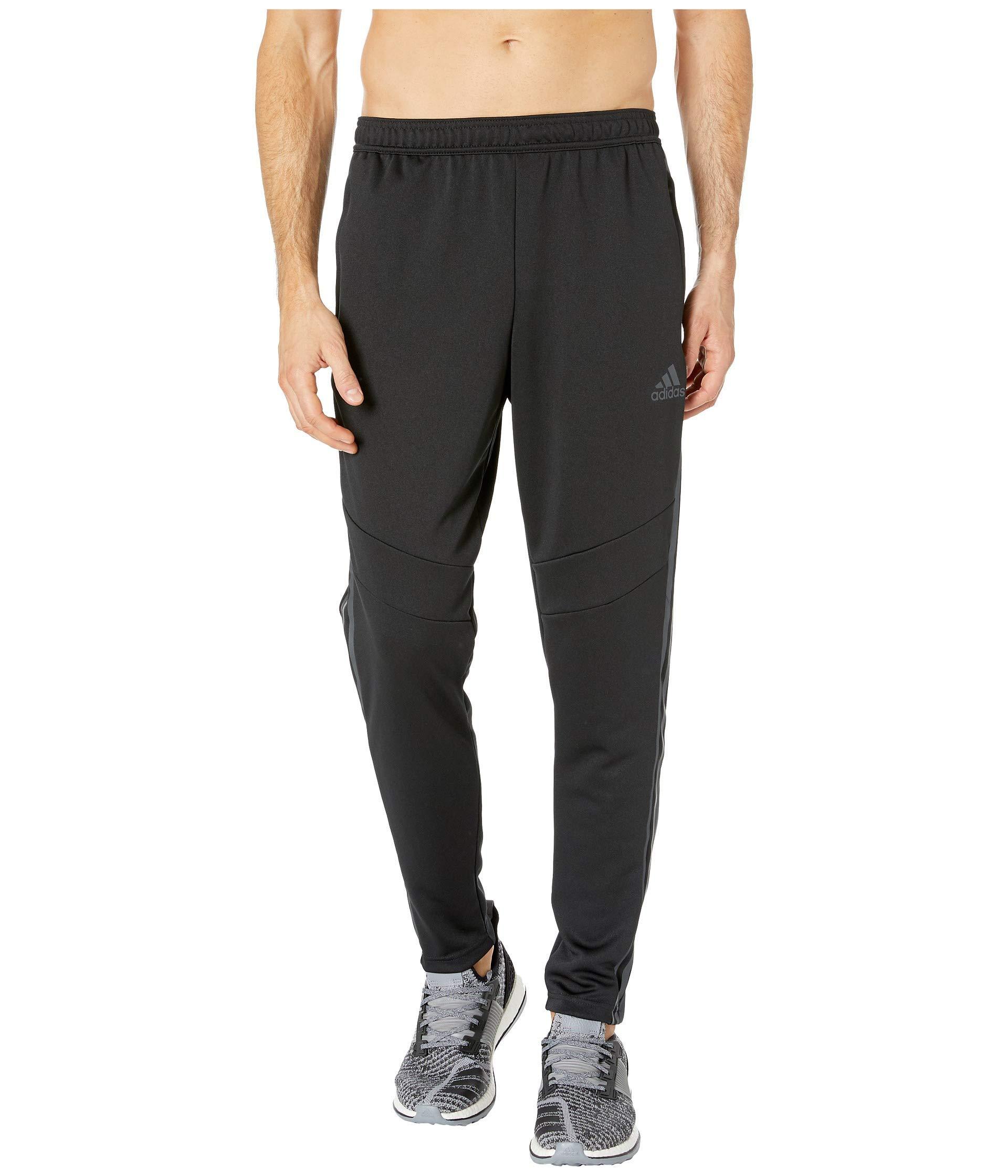 adidas Men's Soccer Tiro 19 Training Pant, Black/Carbon Pearl Essence, 3X-Large