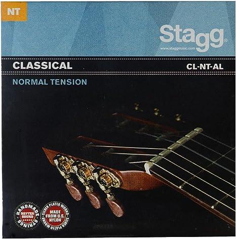Stagg Angel Lopez - Cuerdas para guitarra clásica (tensión normal ...
