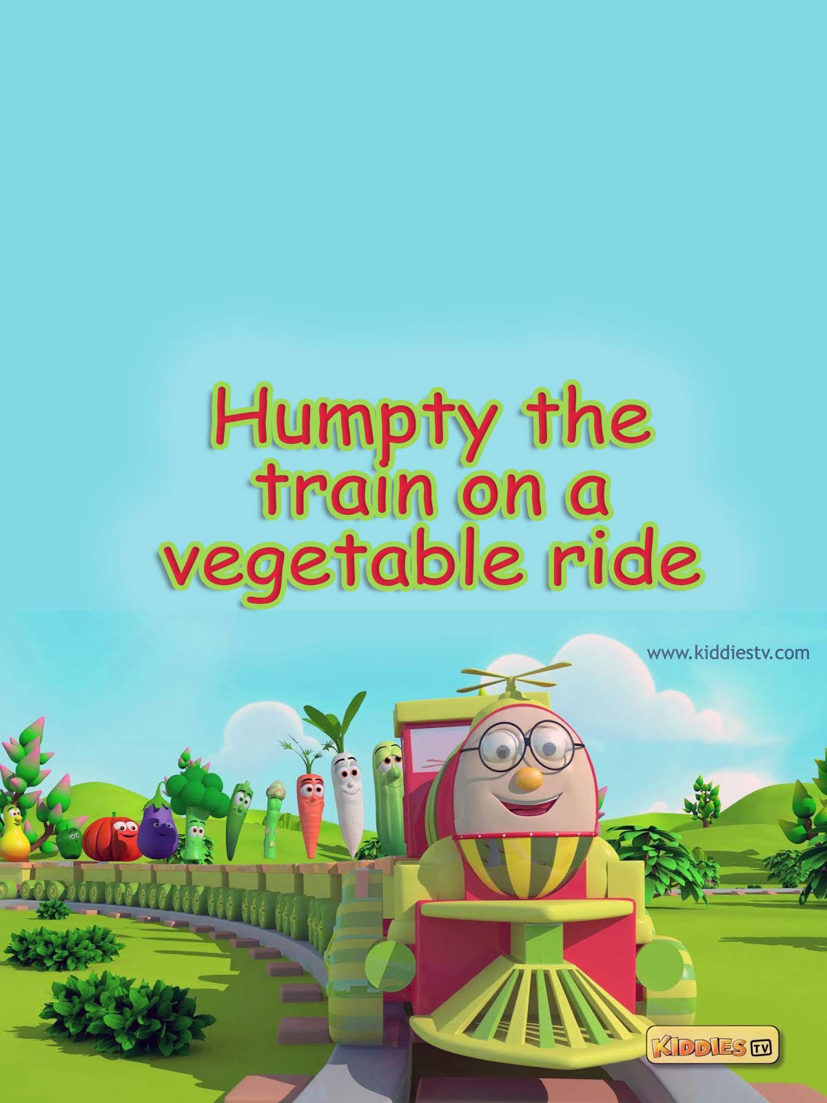 Humpty The Train on a Vegetable Ride