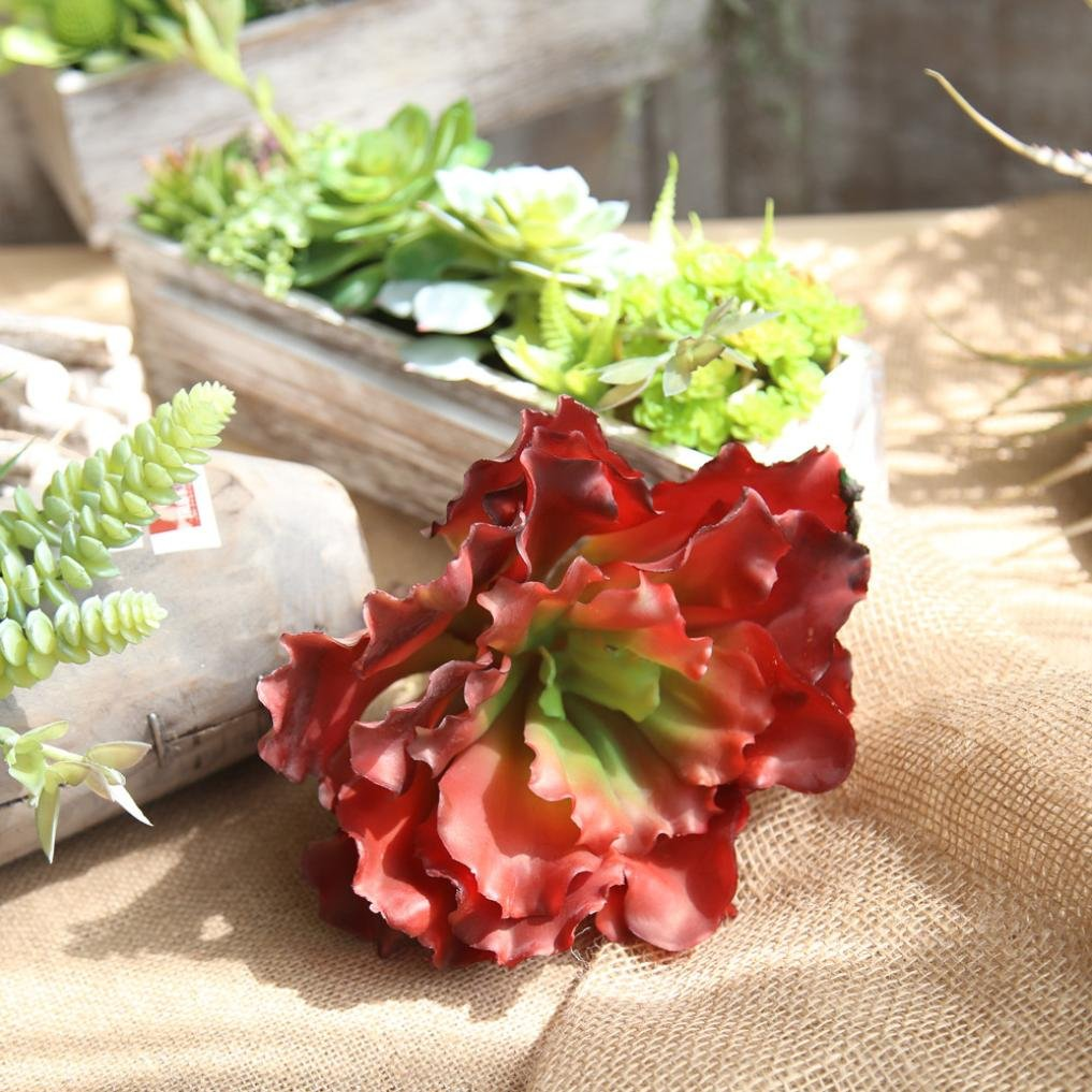 85off Decorative Simulation Succulent Plant Lotusflower