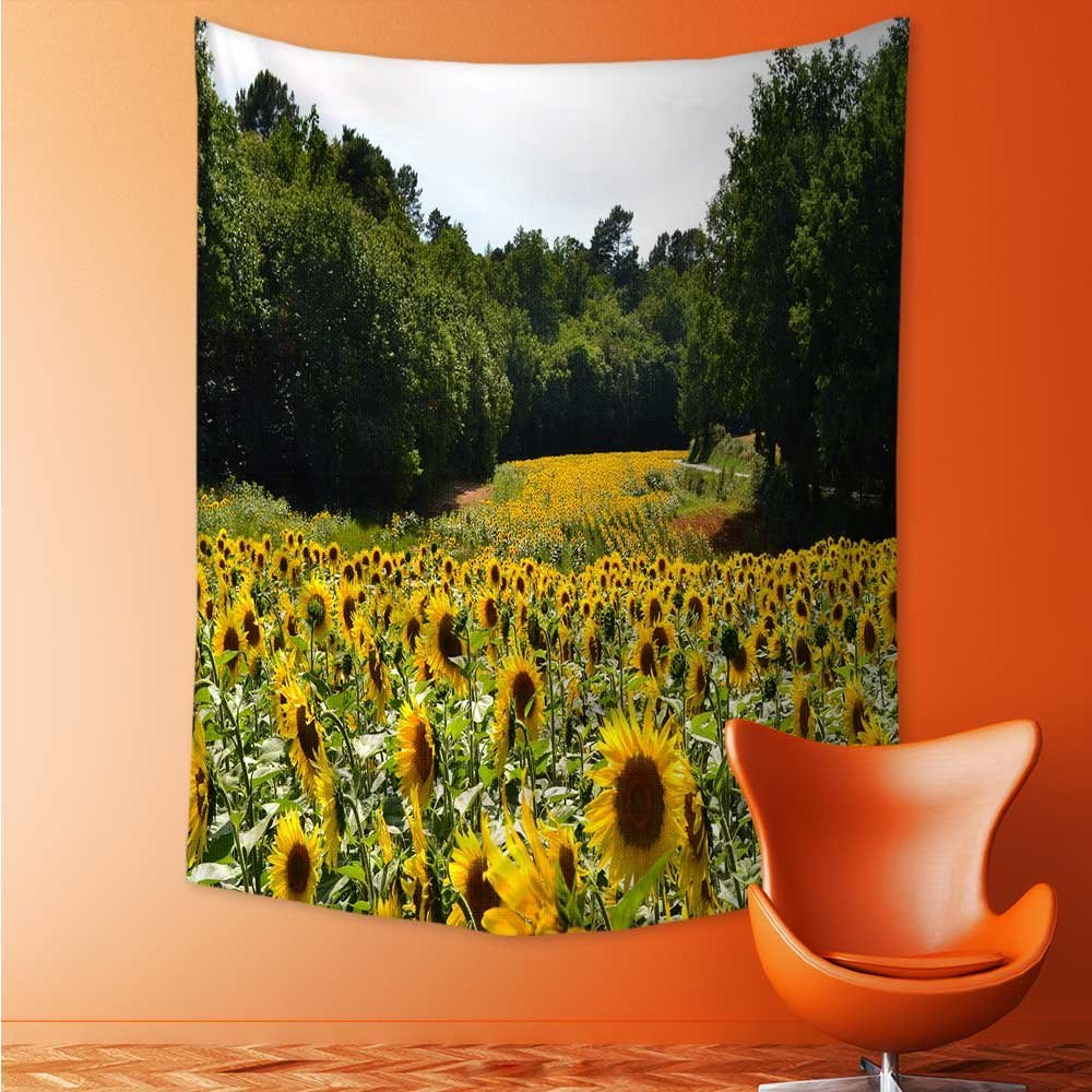 Amazon.com: Mandala Tapestry Celestial Wall Decor Sunflower Dorm ...
